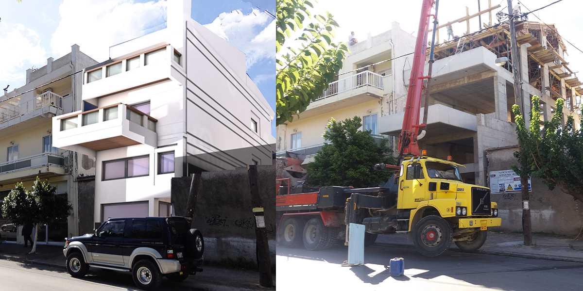 οικοδομική άδεια κατασκευή επίβλεψη αρχιτεκτονικό γραφείο Μουτζούρη στην Κάρυστο