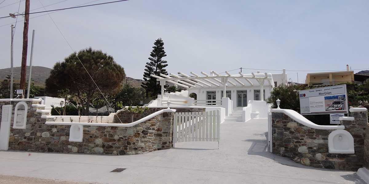 Bouros Karystos constuction by Moutzouri architectural office